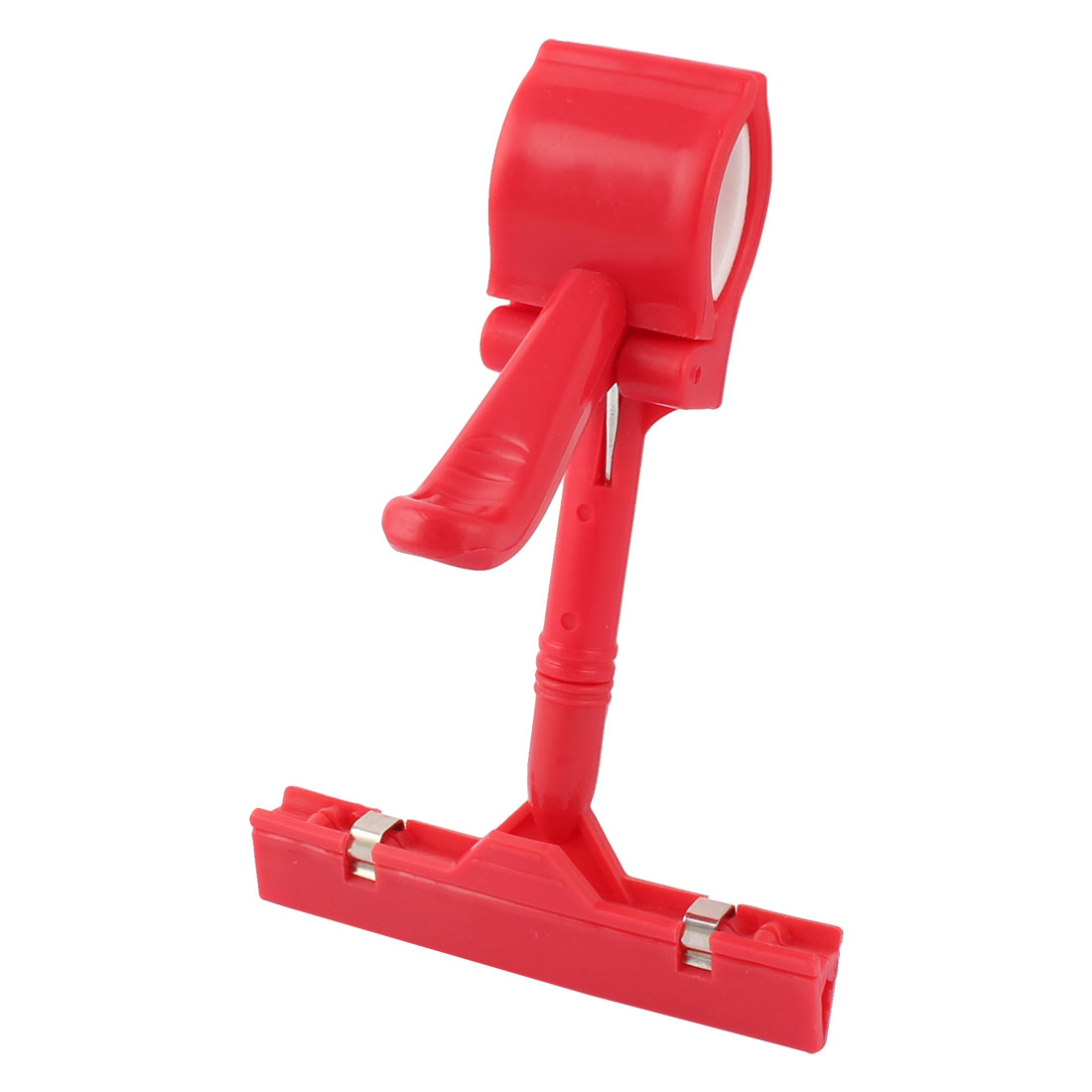 Thumb Design Clamps Poster Sign Card Advertising Display Clip Holder Red