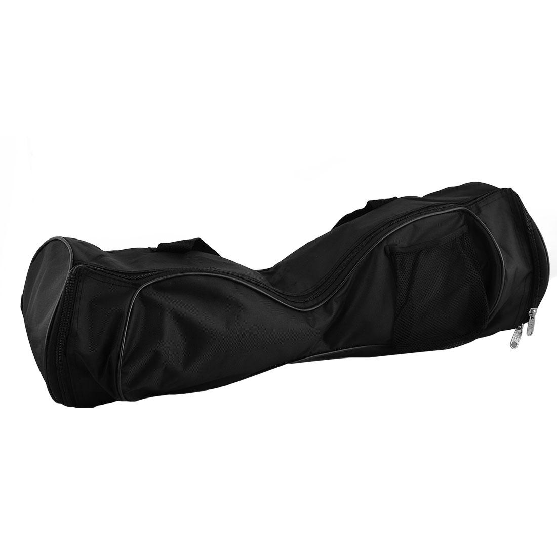 "Self Balancing Wheel 7.5"" Dia Carry Bag Case Backpack Black"