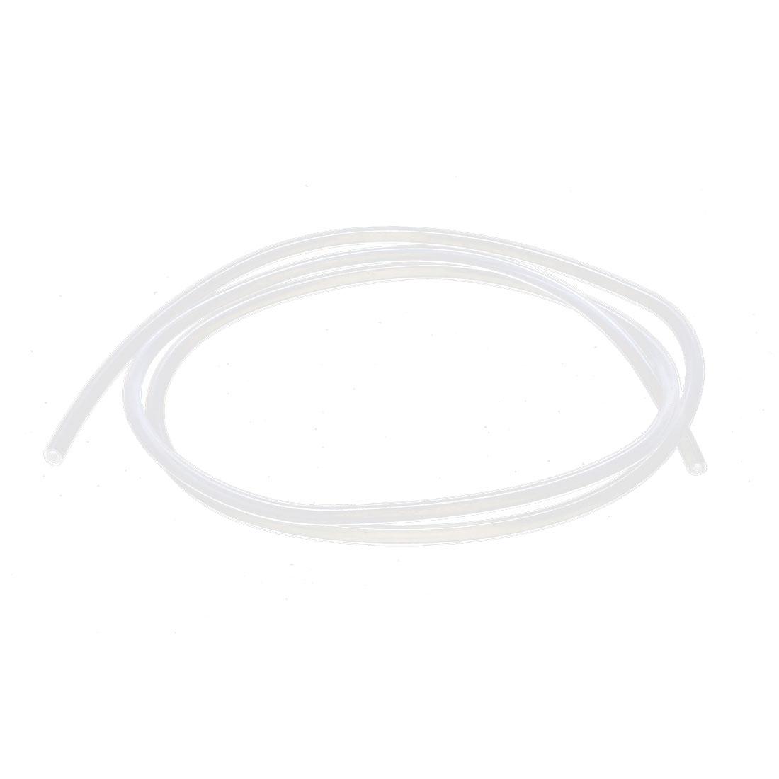 2mm x 4mm PTFE Tubing Tube Pipe 1 Meter 3.3Ft Clear for 3D Printer RepRap