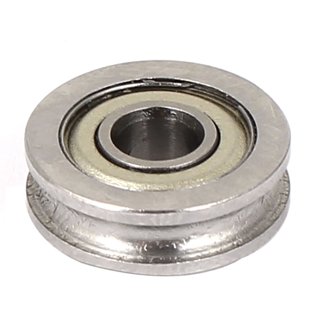 13mm x 4mm x 4mm U604ZZ Shields Deep Groove Flanged Ball Bearing