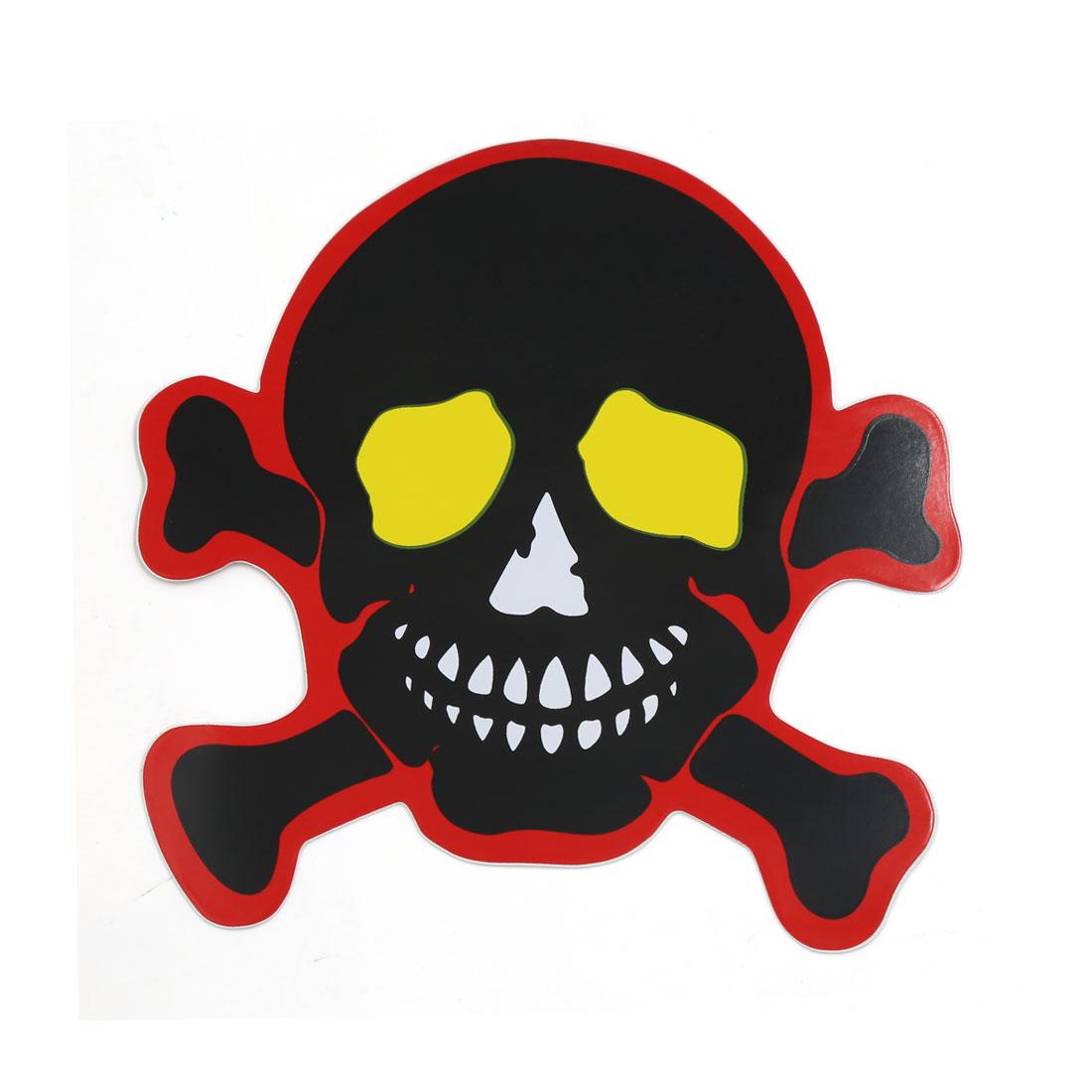 Devil Skull Head Shaped Sticker Decor Car Body Window Door Stickers Decals 10pcs