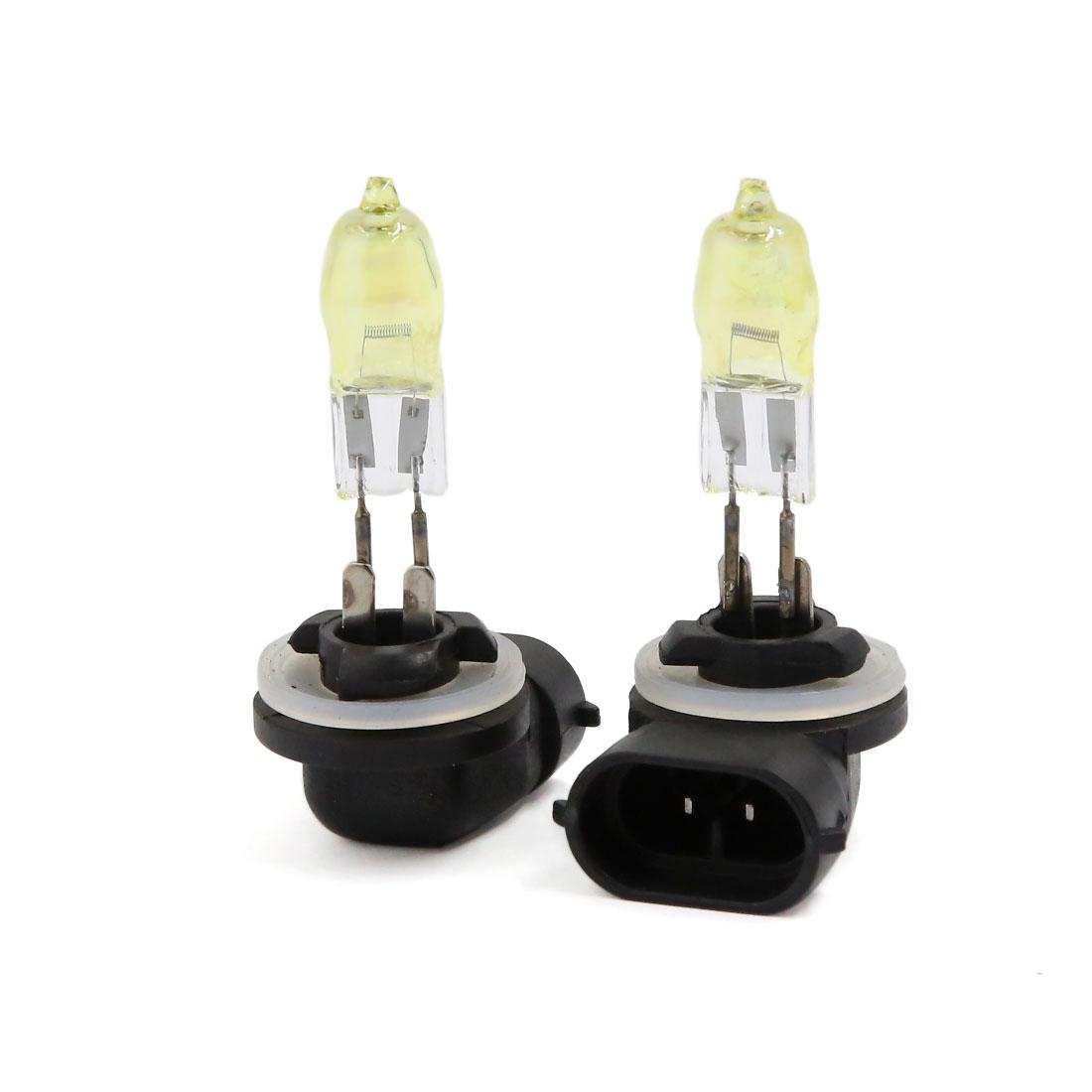Golden Yellow 881 Halogen Bulbs Fog Light HOD Xenon Lamp 12V 100W Pair