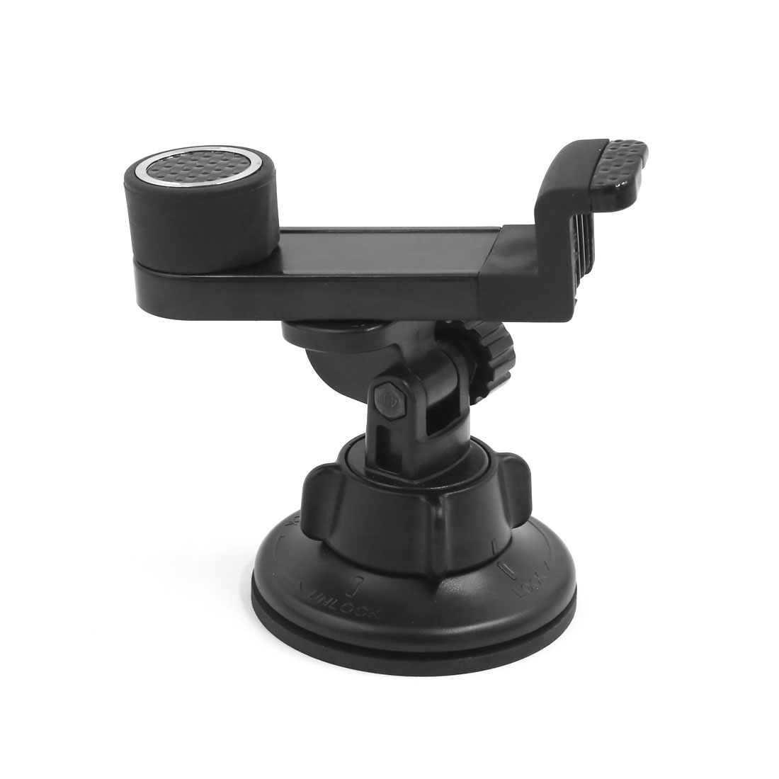 Universal 360 Degree Rotating Car Windshield Mount Holder Stand Bracket Black for Cell Phone