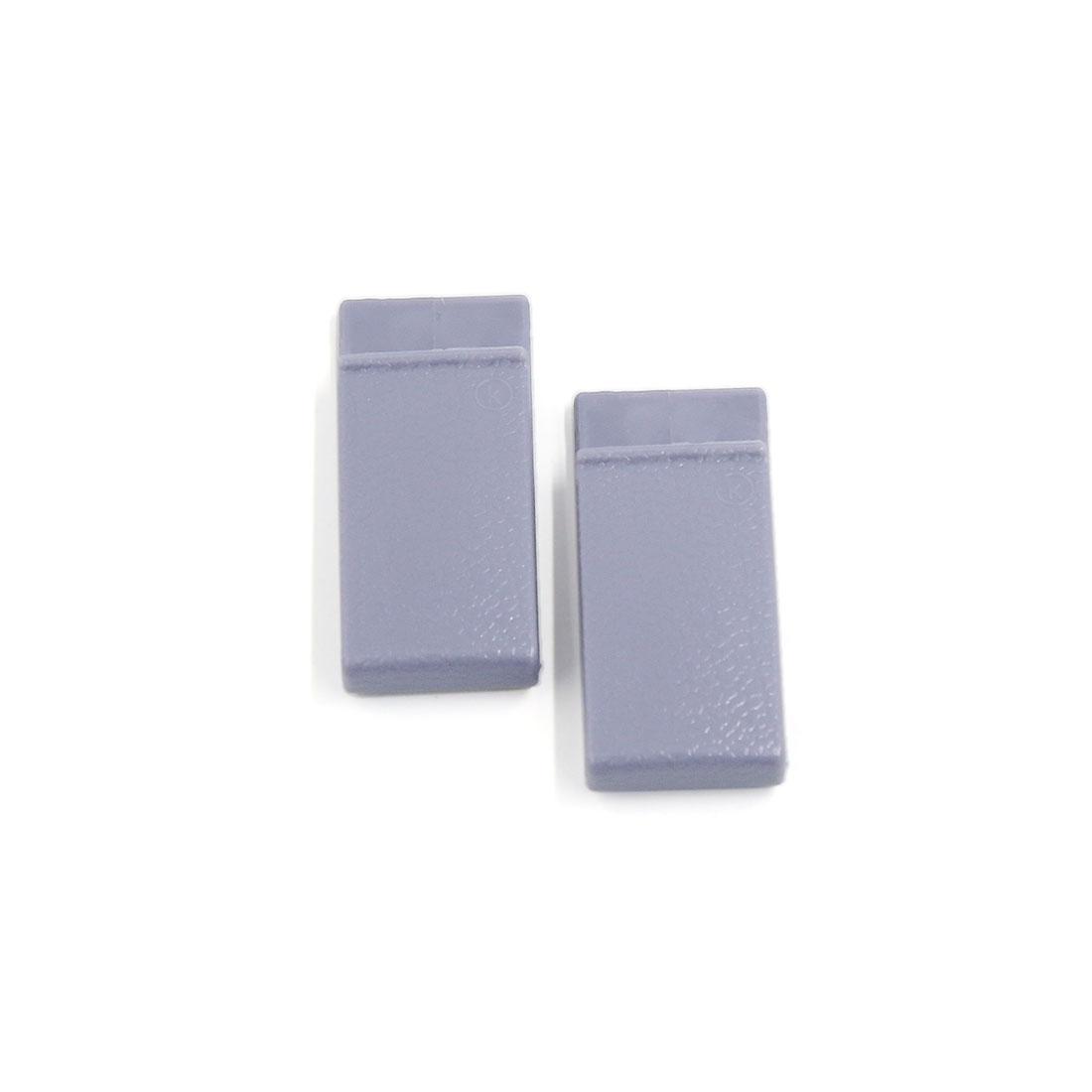 Light Purple Card Bill Ticket Holder Car Auto Visor Glasses Sunglasses Clip 2pcs