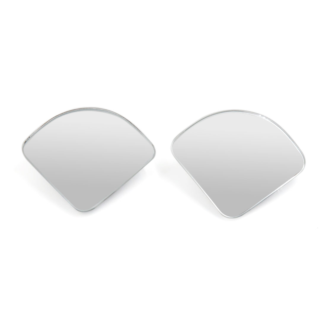 Universal 360 Degree Adjustable Sectorial Shaped Rear View Blind Spot Mirror 2pcs for Car