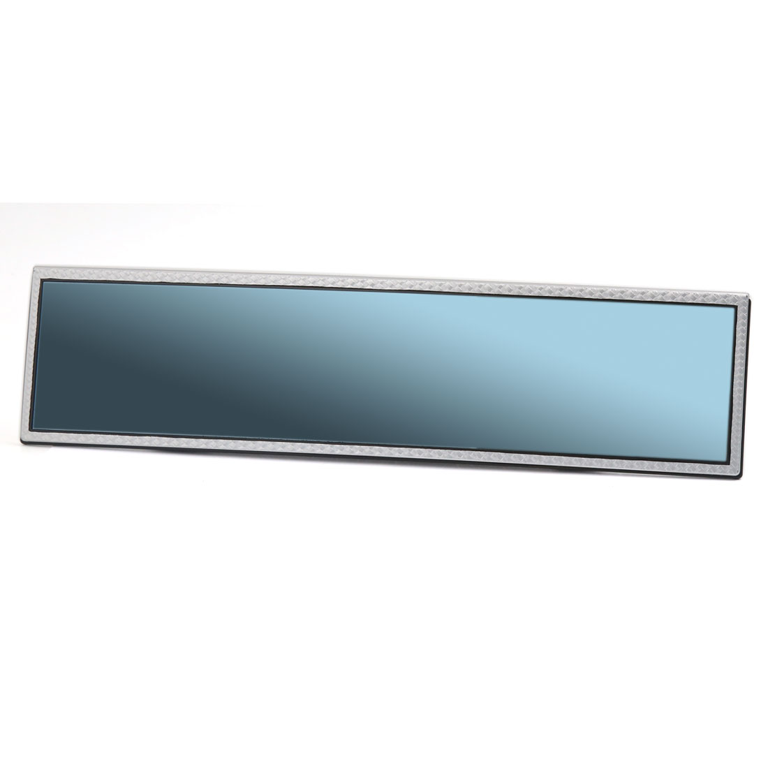 308mm Wide Blue Glass Convex Clip On Car Truck Interior Assist Rear View Rearview Mirror
