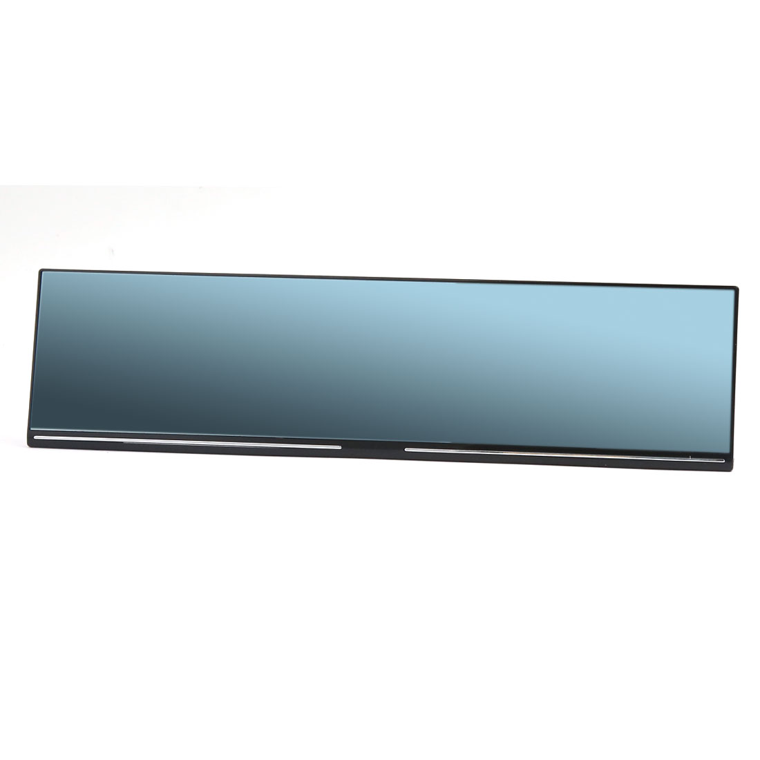 Universal 300mm Flat Blue Tinted Car Interior Rectangular Back Up Rear View Mirror