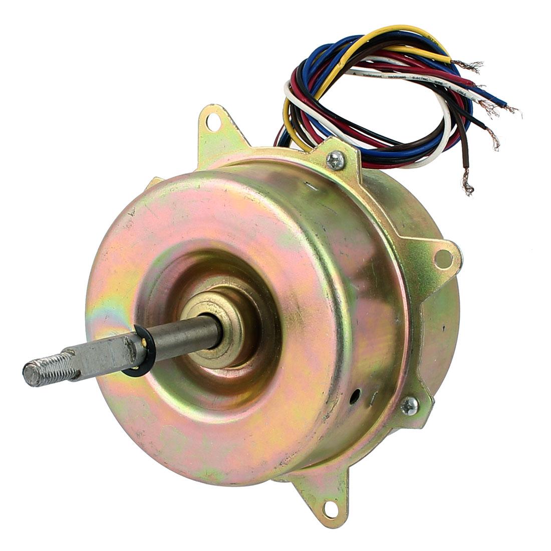AC 220V 0.6A 45W 1000RPM 10mm x 85mm Shaft Electric Ventilator Fan Motor