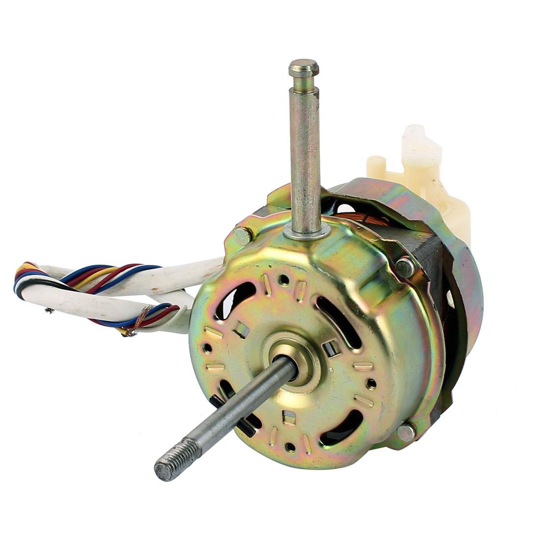 AC 220V 0.2A 10W 1200RPM 8mm x 75mm Shaft Electric Ventilator Fan Motor