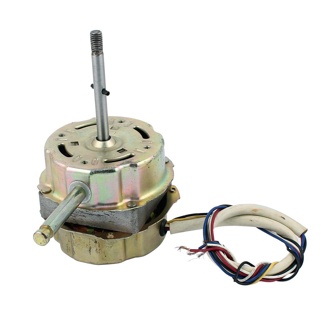 AC 220V 0.2A 10W 1200RPM 8mmx75mm Shaft Electric Ventilator Fan Motor