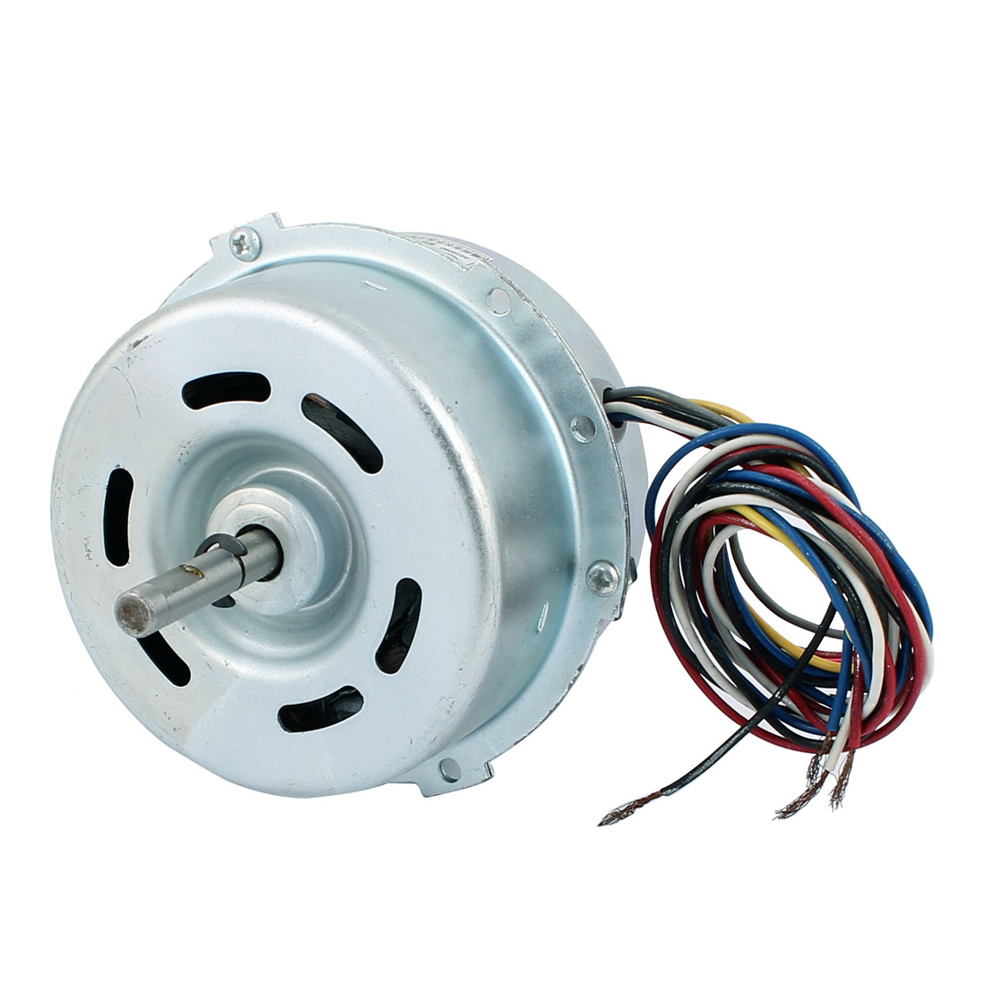 AC 220V 25W 1000RPM 8mmx40mm Shaft Dual Bearing Ball Electric Ventilator Fan Motor