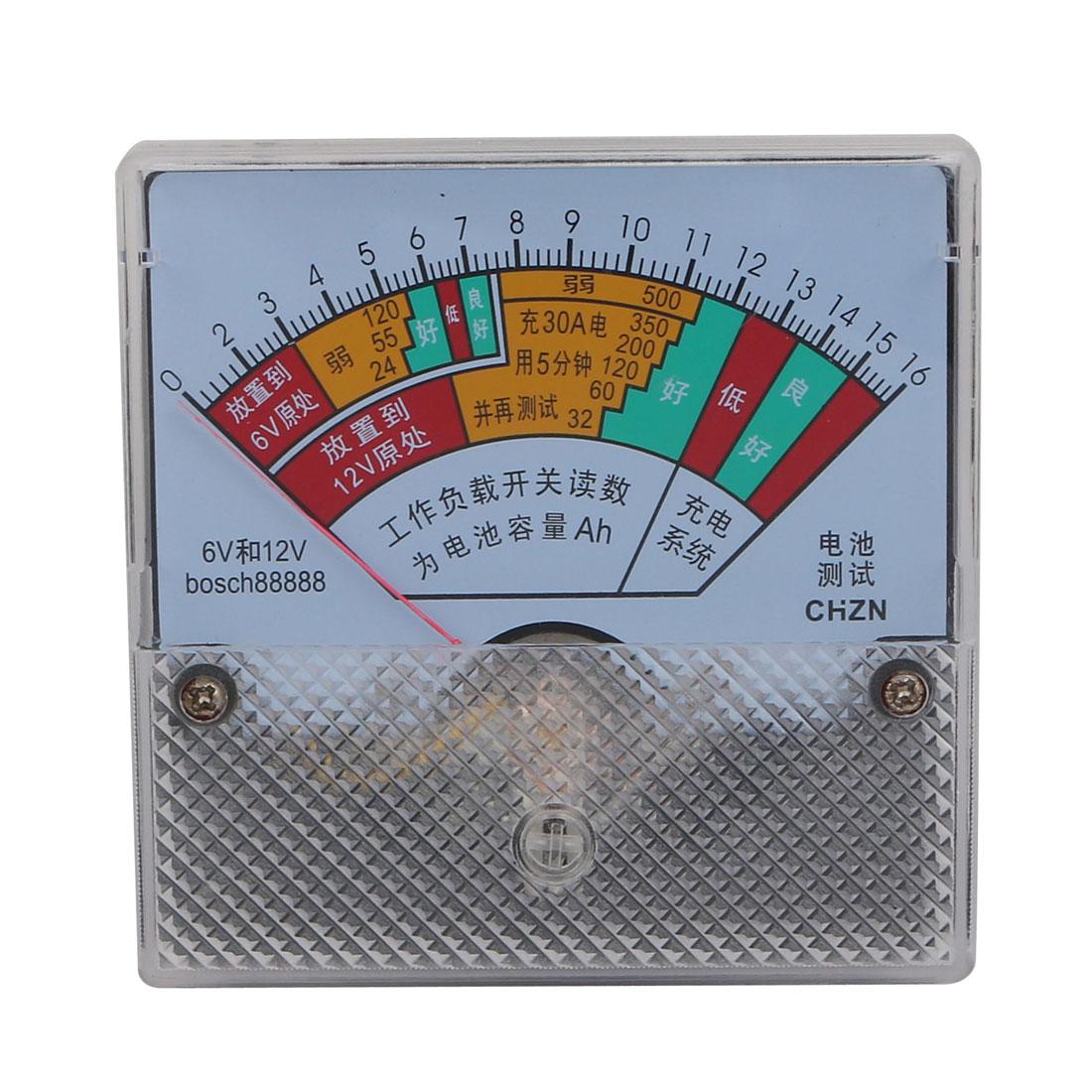 DC 6V/12V Battery Tester Module PCB Board Panel Charging Discharging Testing