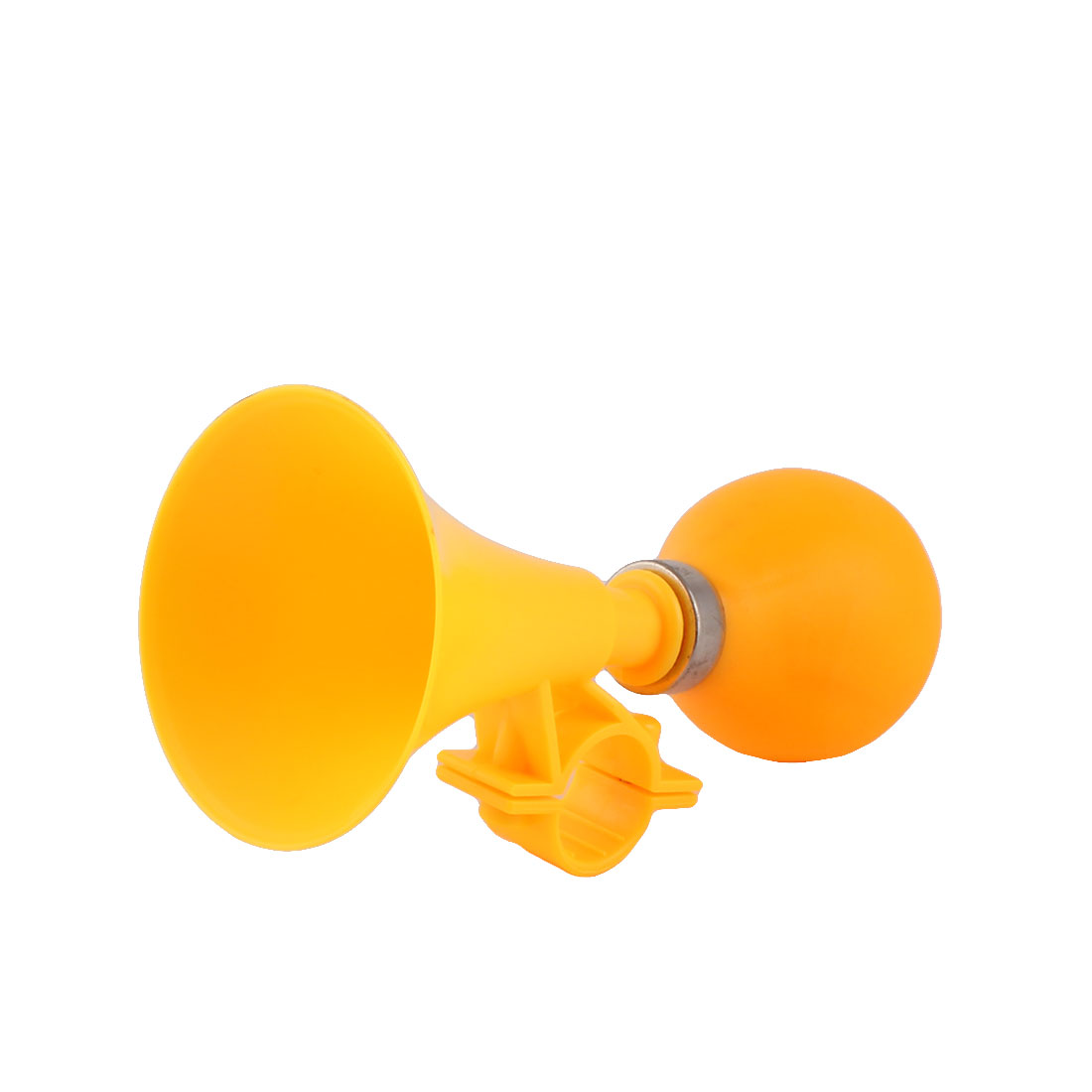 Bicycle Bike Cycling Rubber Squeeze Bulb Hooter Bell Air Horn Trumpet Dark Yellow