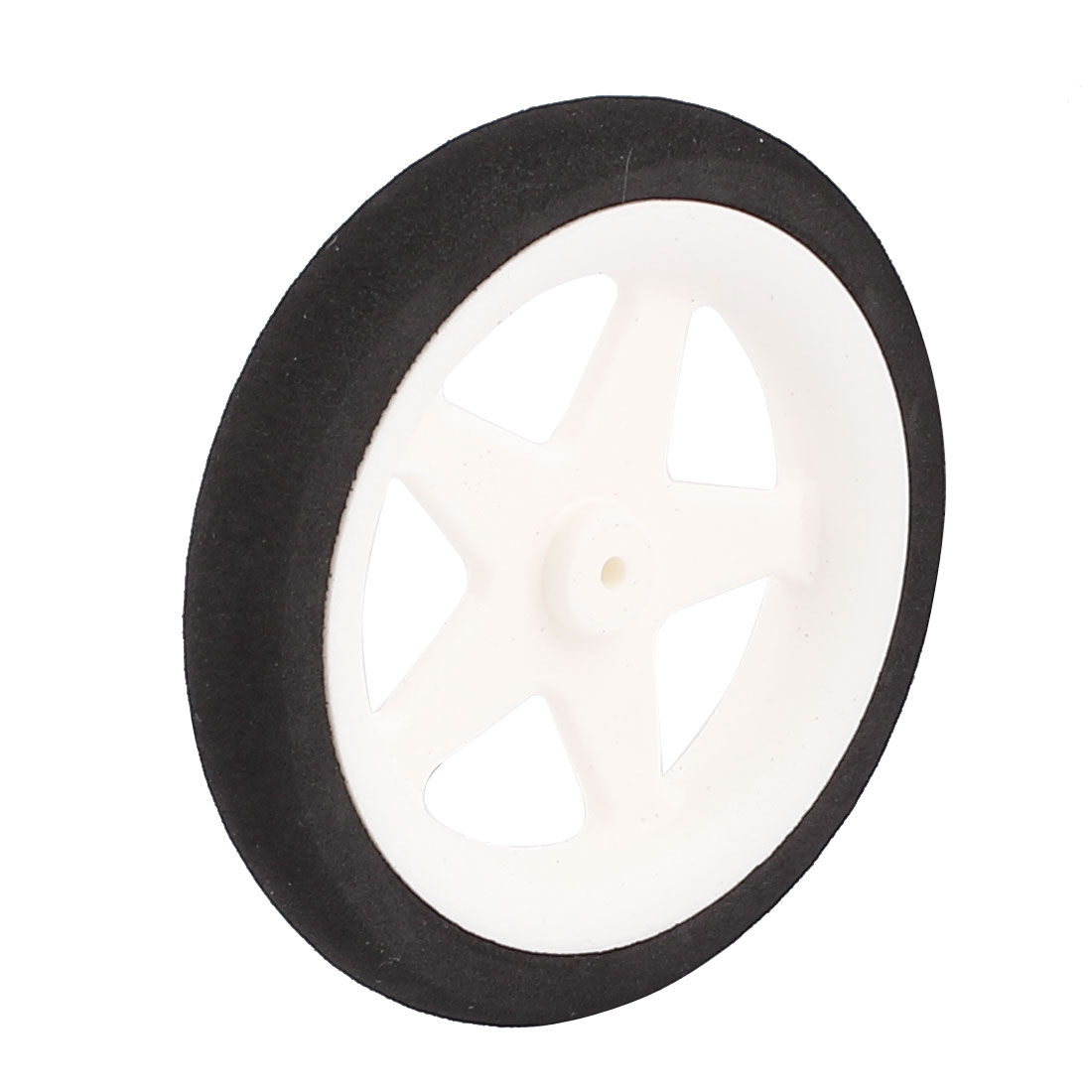 1.8mm Shaft Hole RC Plane Tail Tire Lightweight Sponge Wheel Metric Size D55 H10