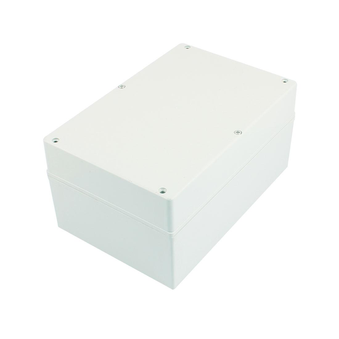 Dustproof IP65 Junction Box DIY Terminal Connection Enclosure Adaptable 232mm x 152mm x 112mm