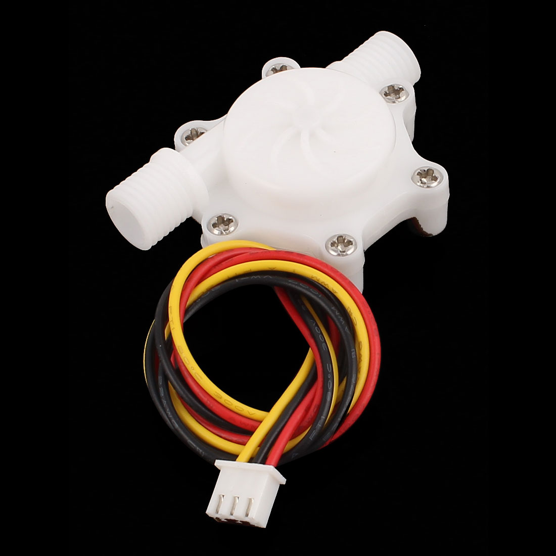 "0.3-3.0L/min G1/4"" Thread Inlet Outlet Water Flow Counter Sensor SEN-HZ06W"