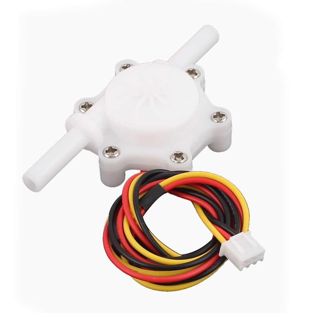 0.3-4.0L/min 6mm Outlet Outer Dia Water Flow Counter Sensor SEN-HZ06K
