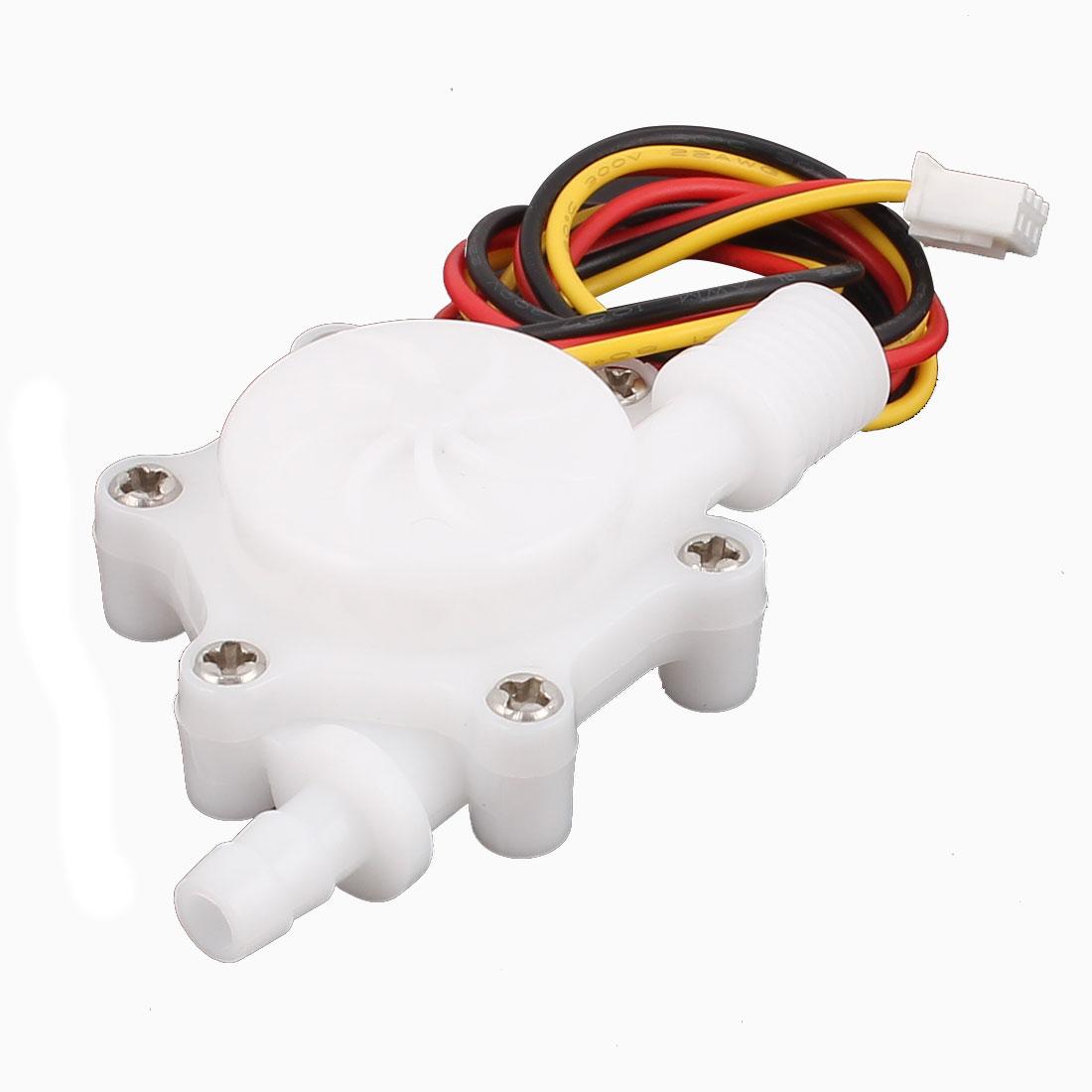 0.2-2.5L/min G1/4 Thread 6mm OD Hall Effect Water Flow Counter Sensor SEN-HZ06FA