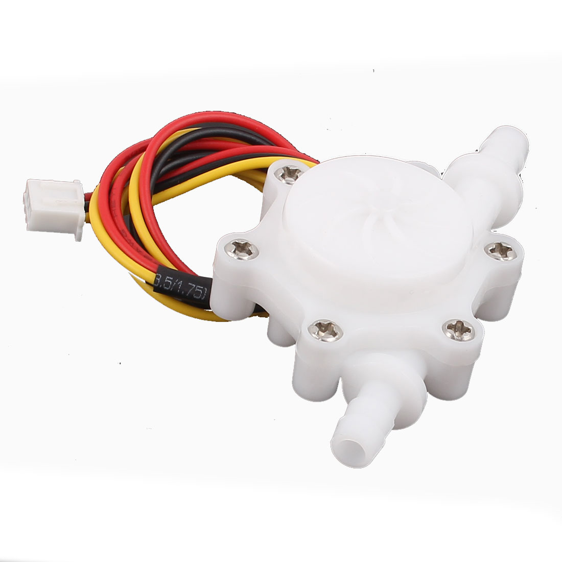 0.15-1.5L/min 6mm Outlet Outer Dia Water Flow Counter Sensor SEN-HZ06C
