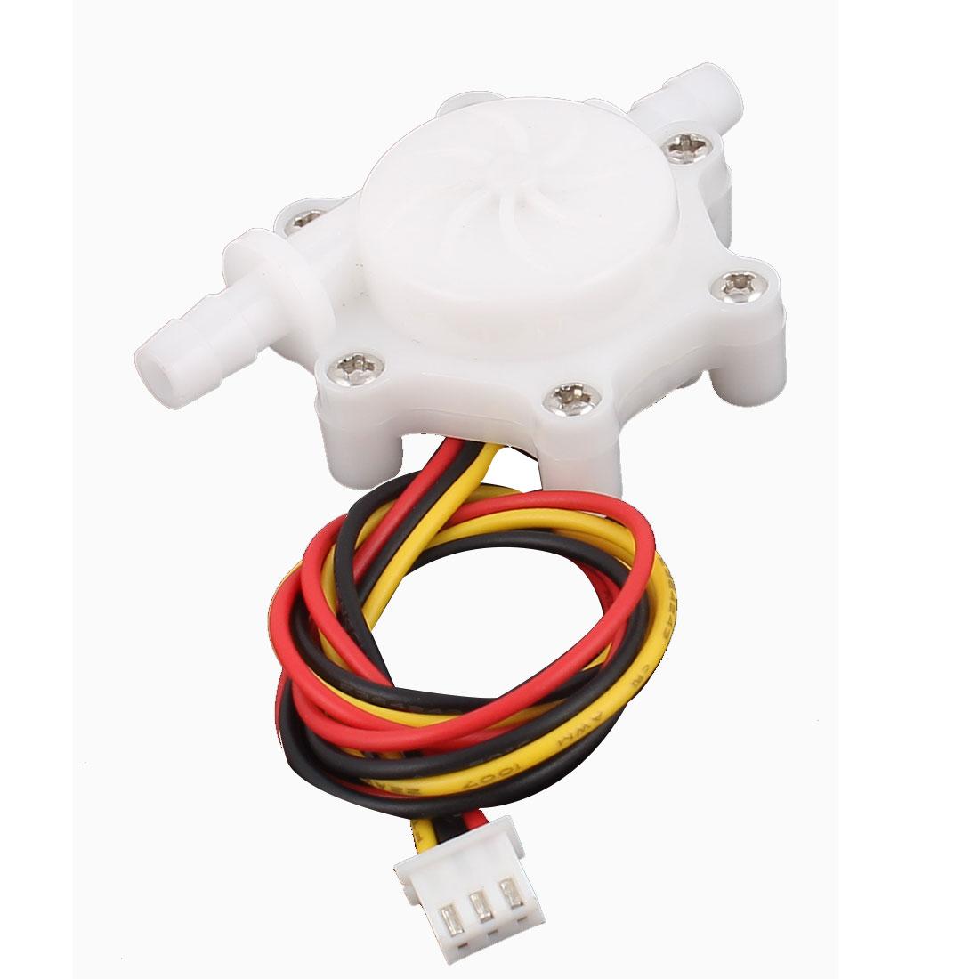 0.2-2.5L/min 6mm Outlet Outer Dia Water Flow Counter Sensor SEN-HZ06C