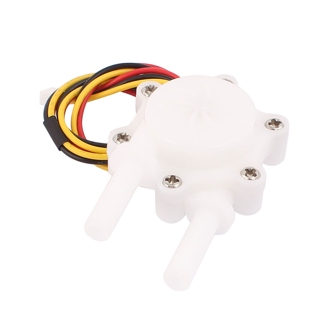 0.3-4.0L/min One Way 6mm Inlet Outlet Outside Dia Water Flow Counter Sensor