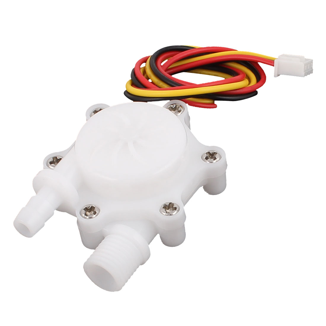 0.3-4.0L/min G1/4 Thread 6mm OD Hall Effect Water Flow Counter Sensor SEN-HW06FB