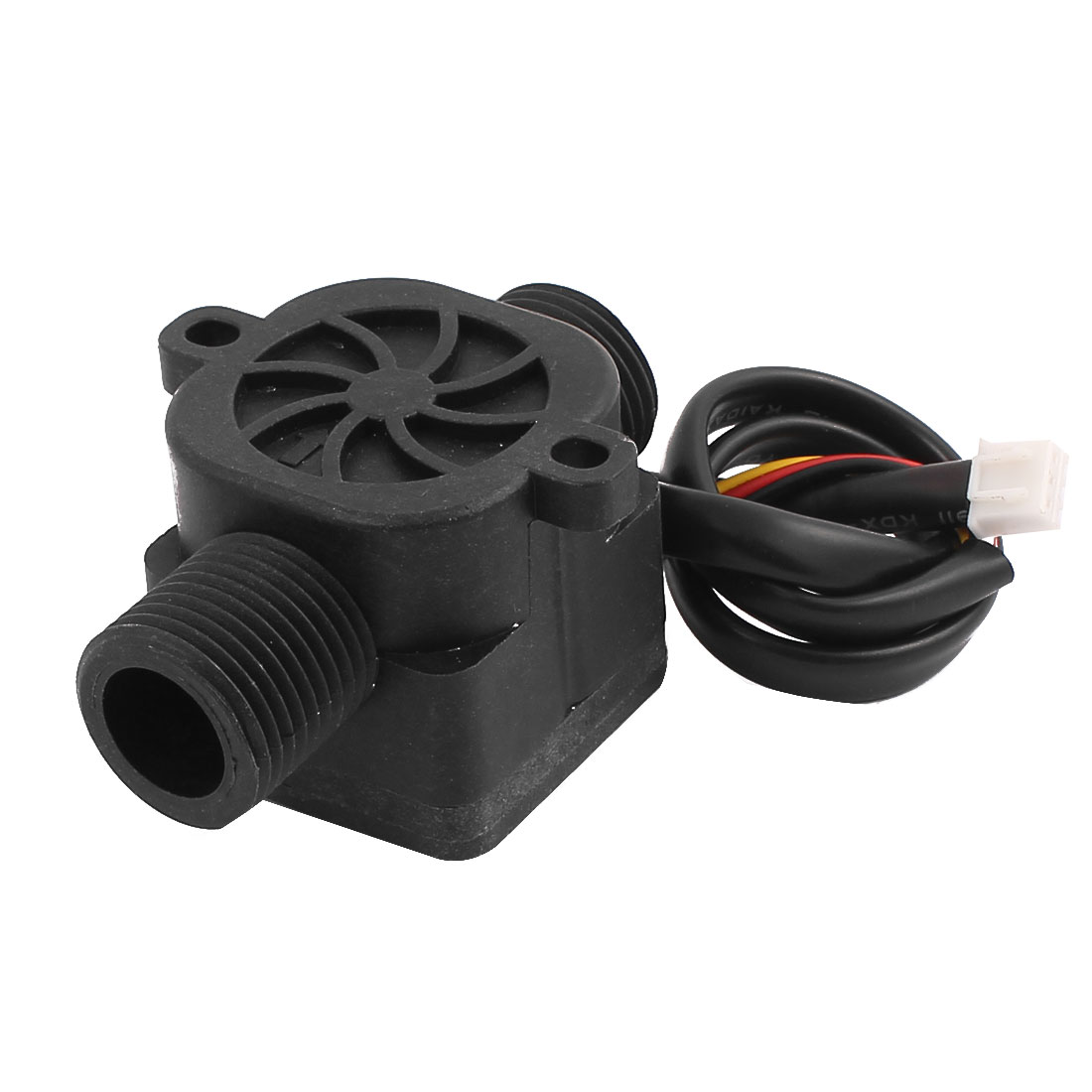 SEN-HZ21WB G1/2 Male Thread Plastic Hall Water Flow Sensor 1-30L/min 65mm