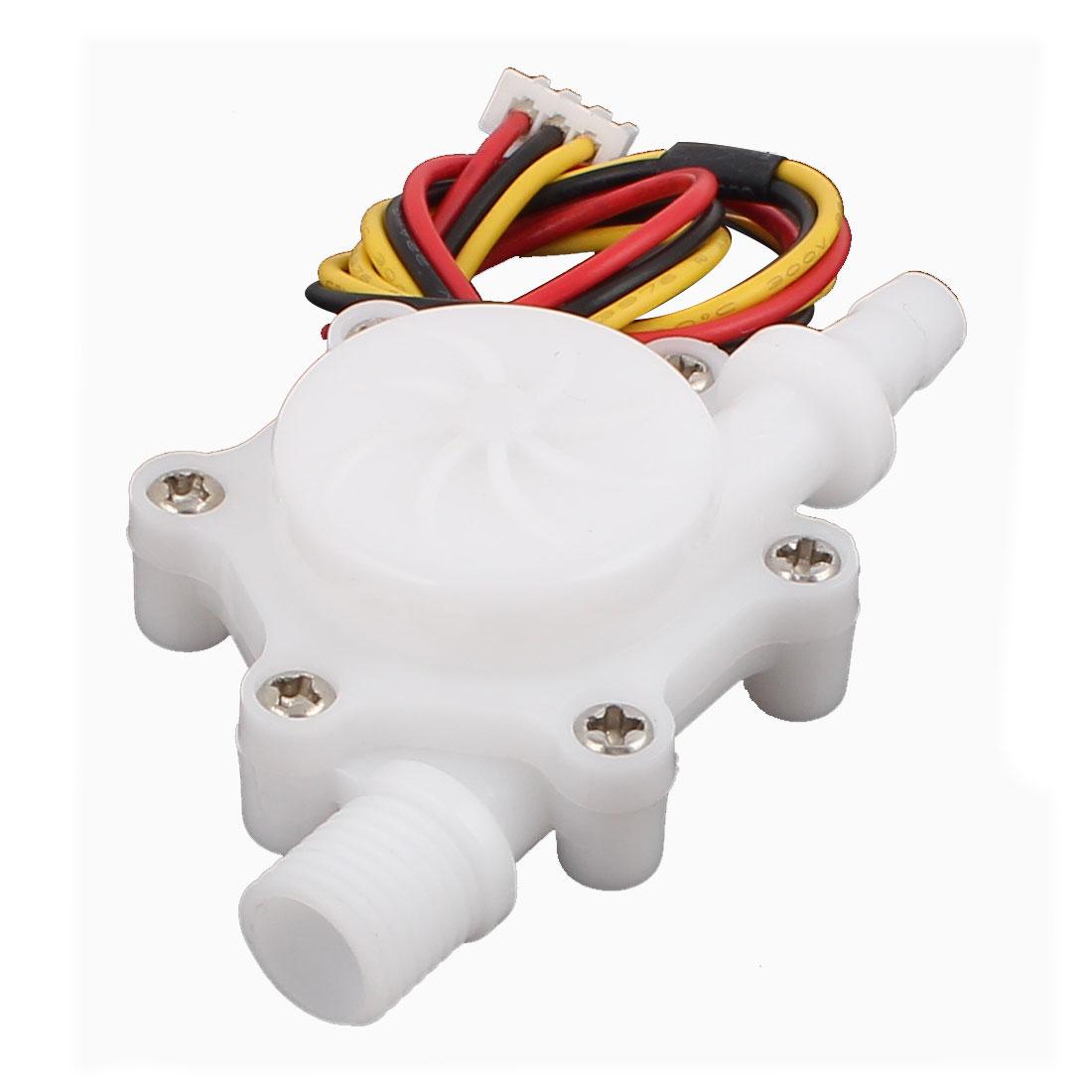 High Precision 0.3-4.0L/min G1/4 Thread 6mm OD Water Flow Sensor SEN-HZ06FB