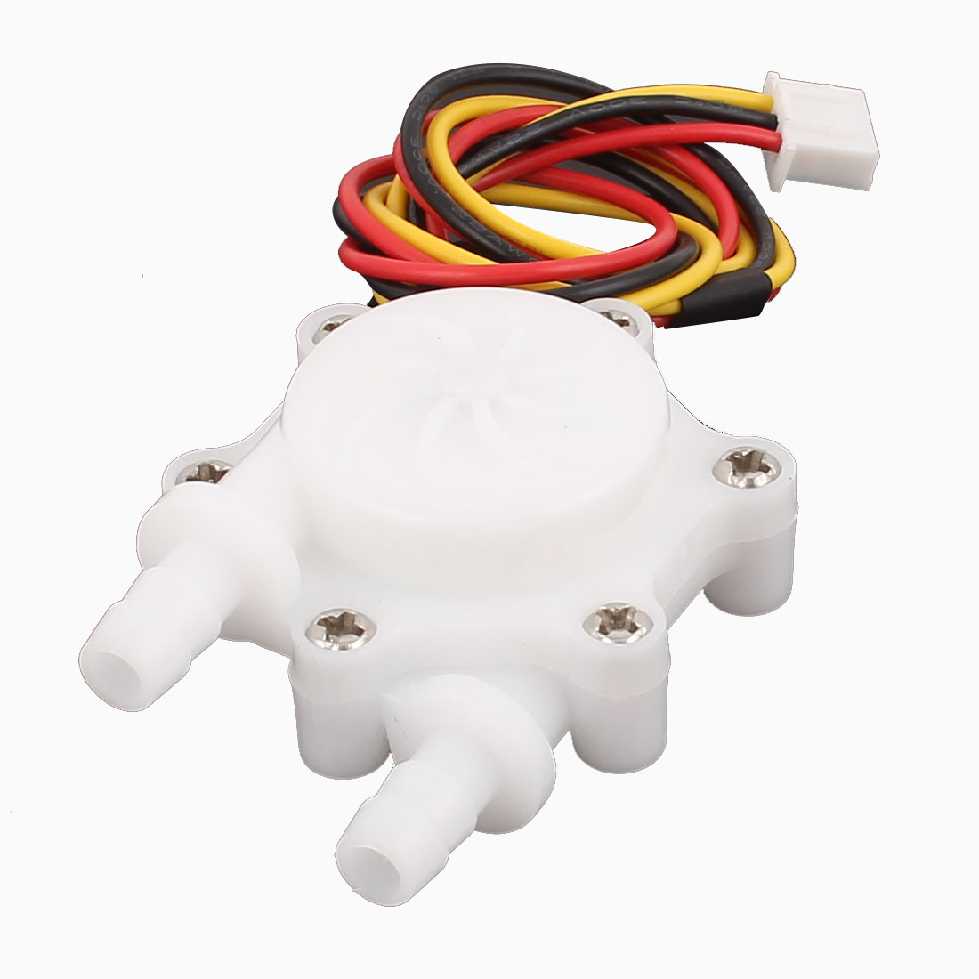 High Precision 0.15-1.5L/min 6mm Inlet Outlet Outside Dia Water Flow Sensor SEN-HW06C
