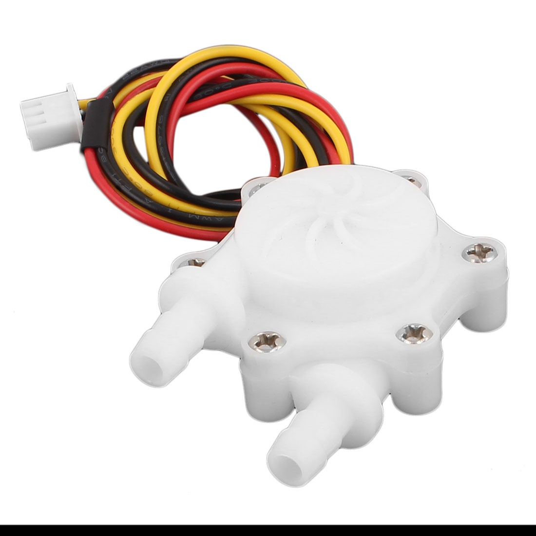 High Precision 0.2-2.5L/min 6mm Inlet Outlet Outside Dia Water Flow Sensor SEN-HW06C