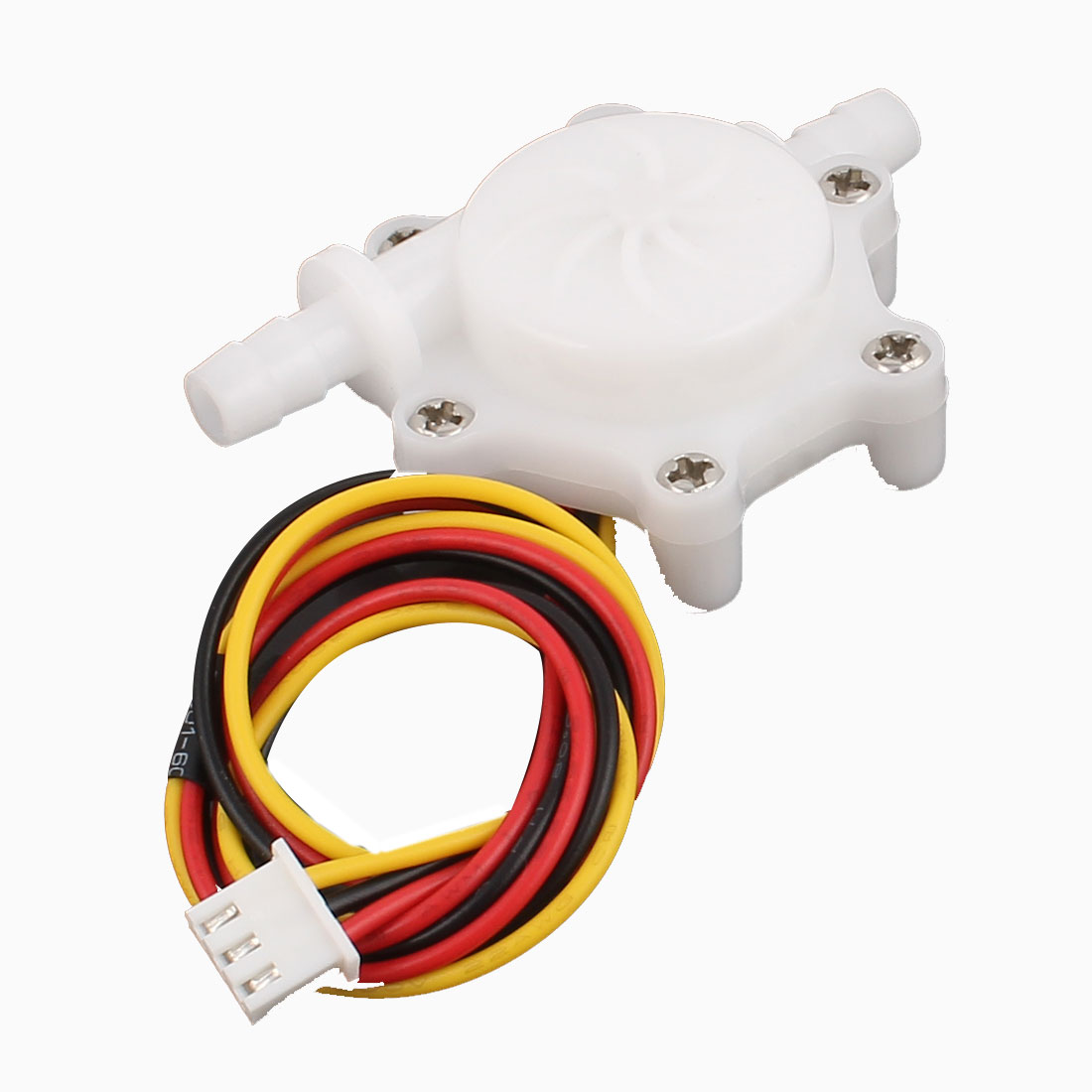 High Precision 0.3-4.0L/min 6mm Inlet Outlet Outside Dia Water Flow Sensor SEN-HZ06C