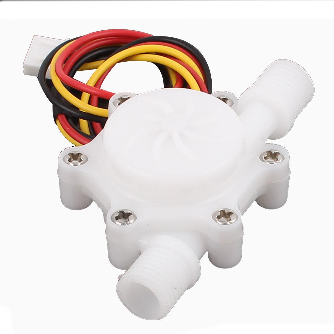 High Precision 0.15-1.5L/min G1/4 Inlet Outlet Thread Water Flow Sensor SEN-HZ06W