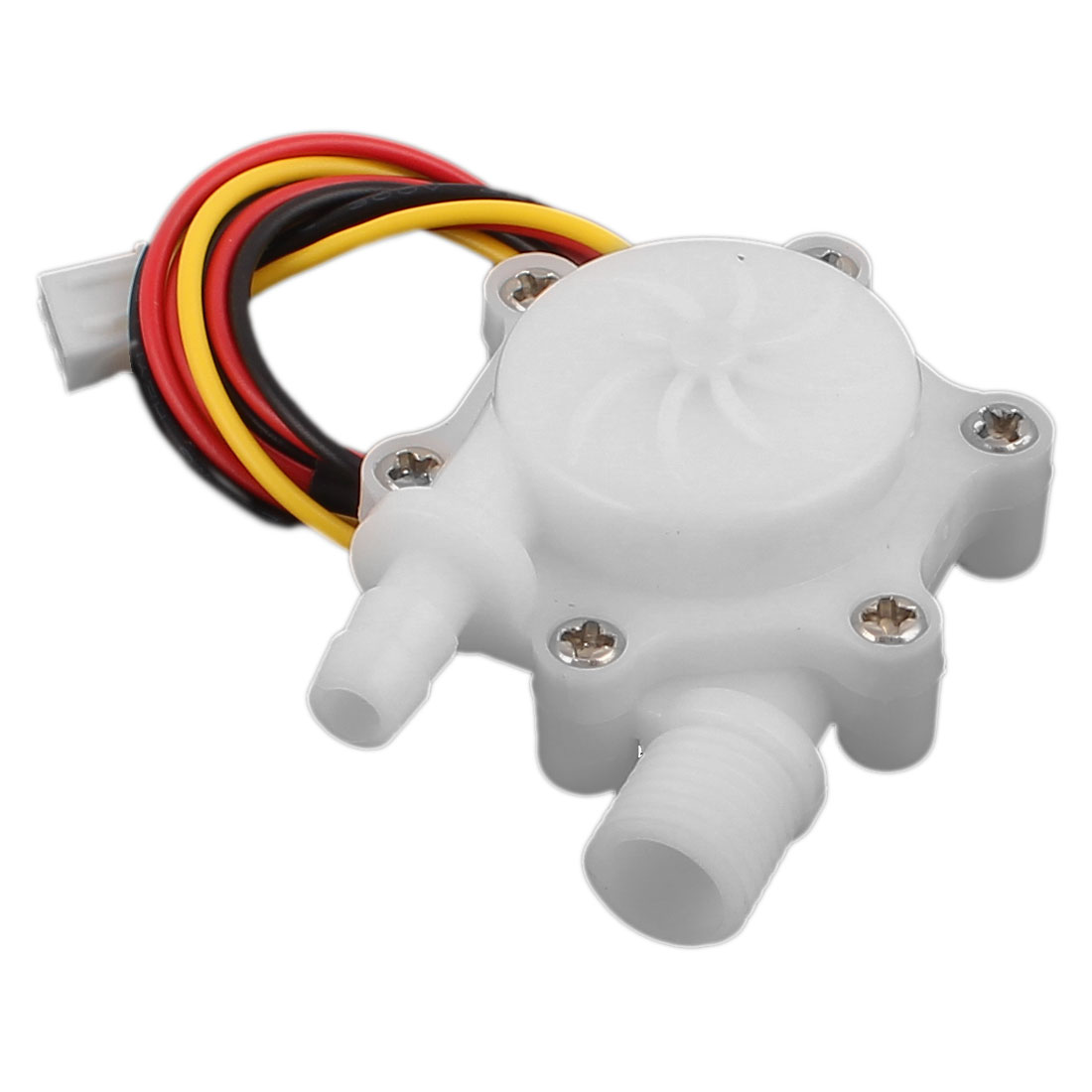High Precision 0.15-1.5L/min G1/4 Thread 6mm OD Water Flow Sensor SEN-HW06FB