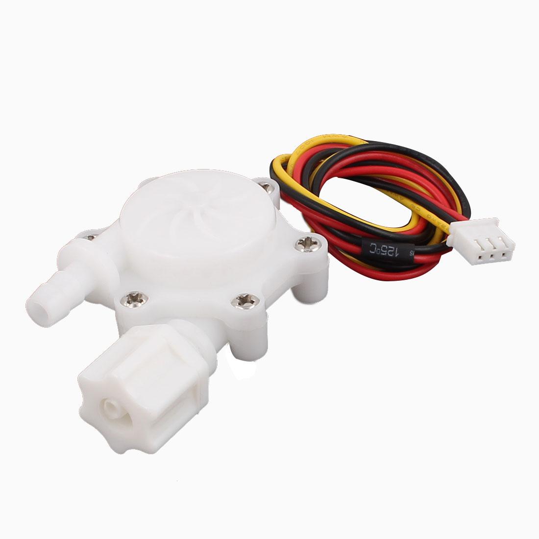 High Precision 0.15-1.5L/min G1/4 Thread Hall Effect Water Flow Sensor SEN-HW06FB