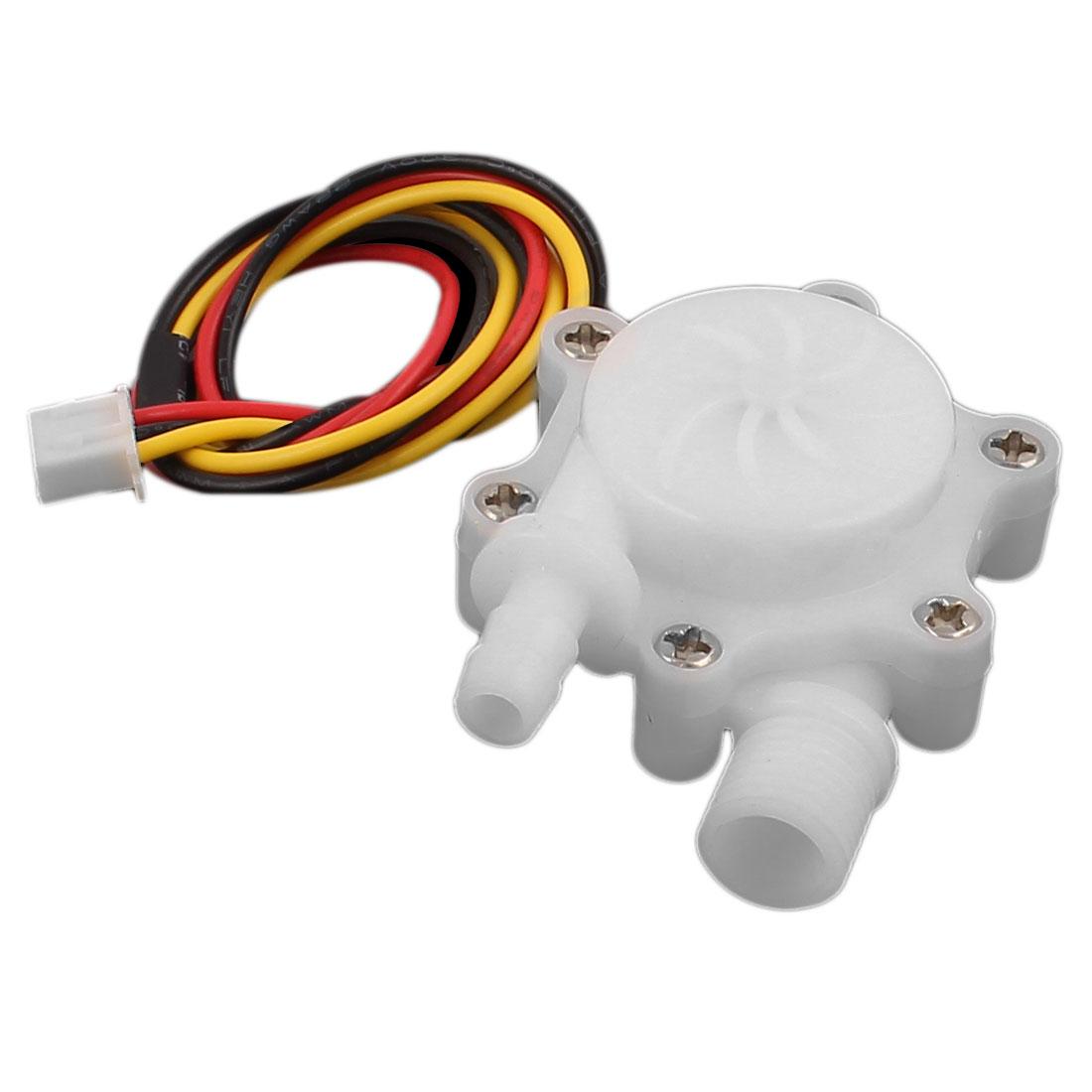 "High Precision 0.3-3.0L/min G1/4"" Thread Water Flow Counter Sensor SEN-HW06FB"