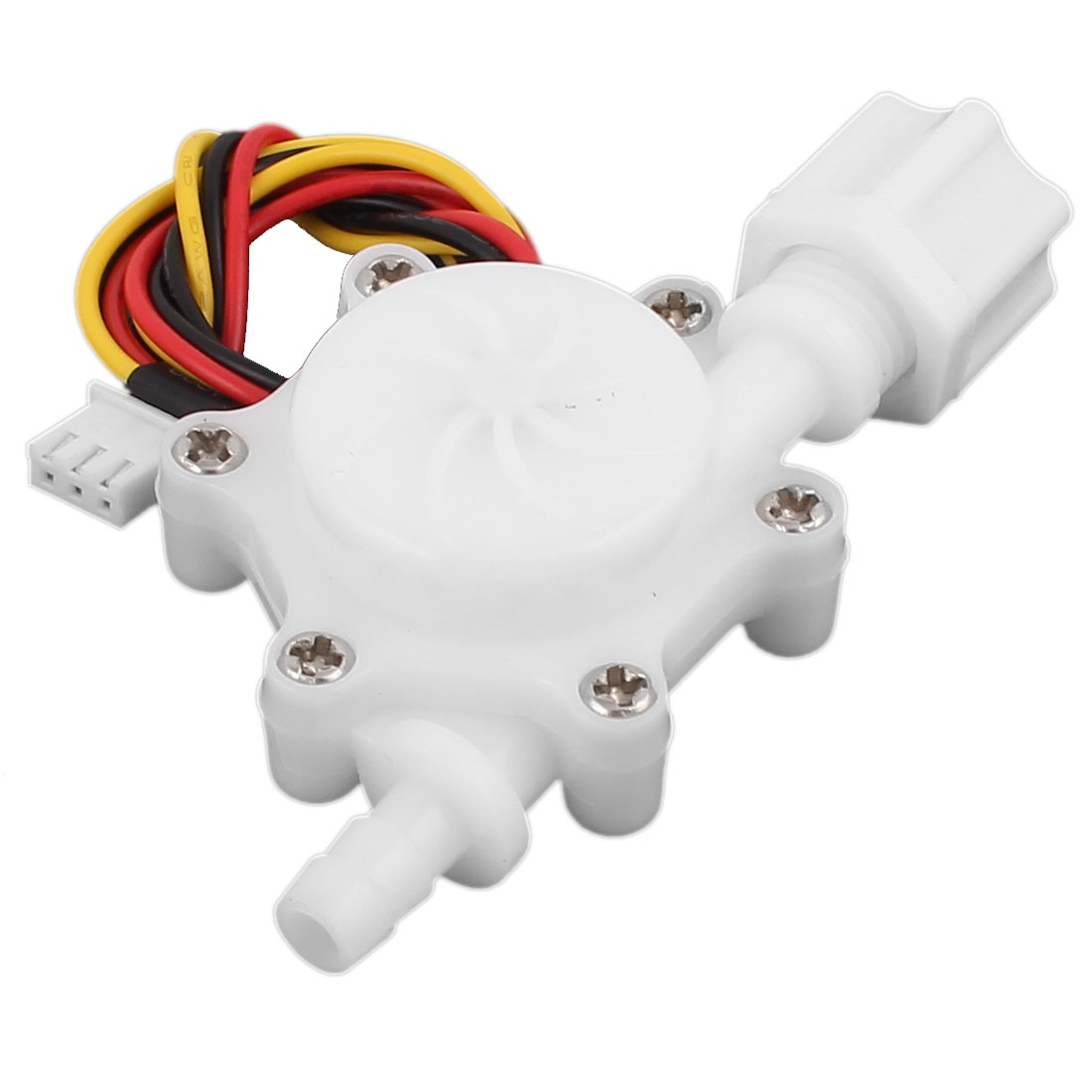 "High Precision 0.2-2.5L/min G1/4"" 6mm Outlet OD Water Flow Sensor SEN-HZ06FA"
