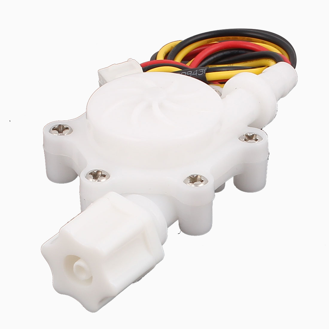 "High Precision 0.2-2.5L/min G1/4"" 6mm OD Water Flow Counter Sensor SEN-HZ06FB"