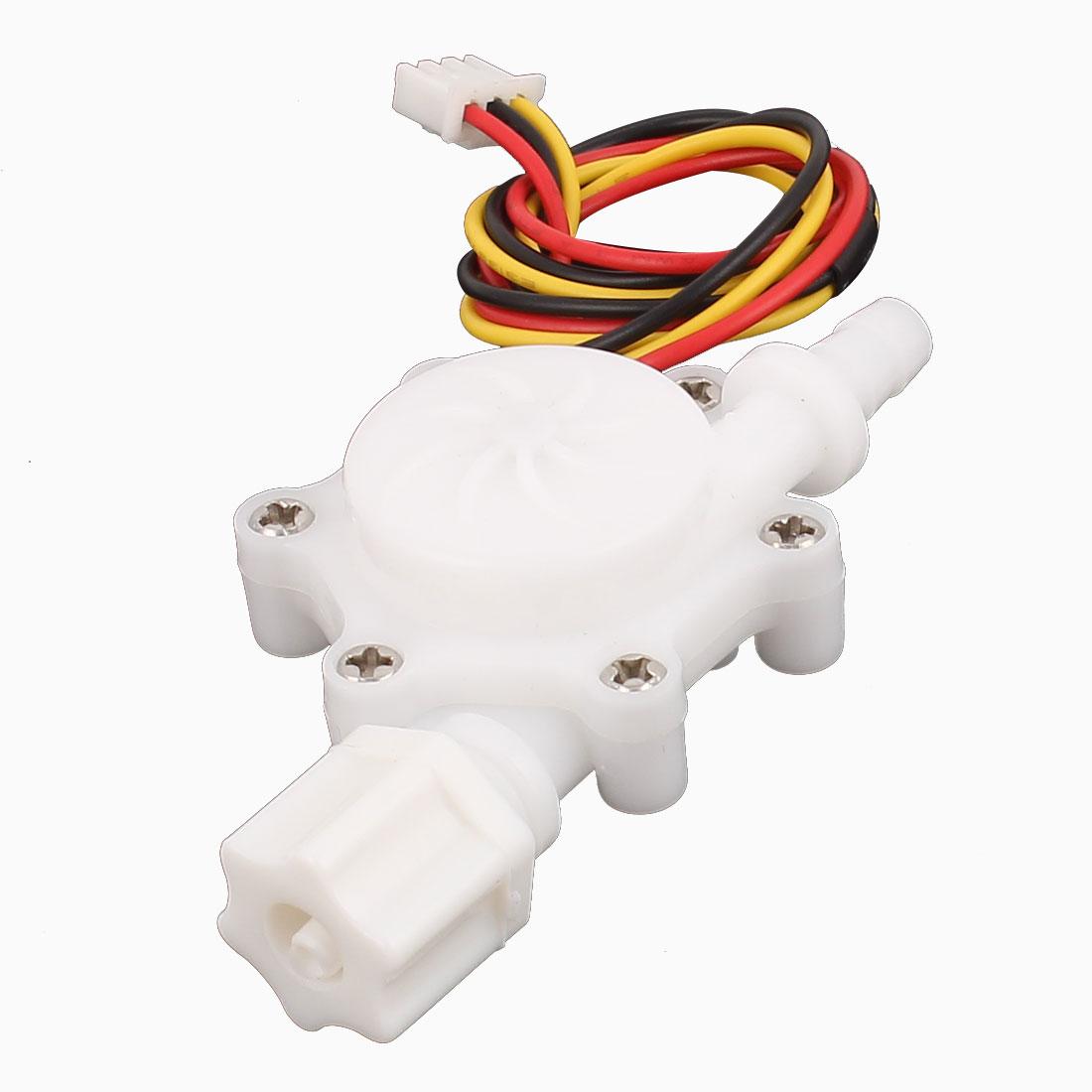 G1/4 Male Thread 6mm Outlet Outer Dia Water Flow Sensor 0.2-2.5L/min SEN-HZ06FB