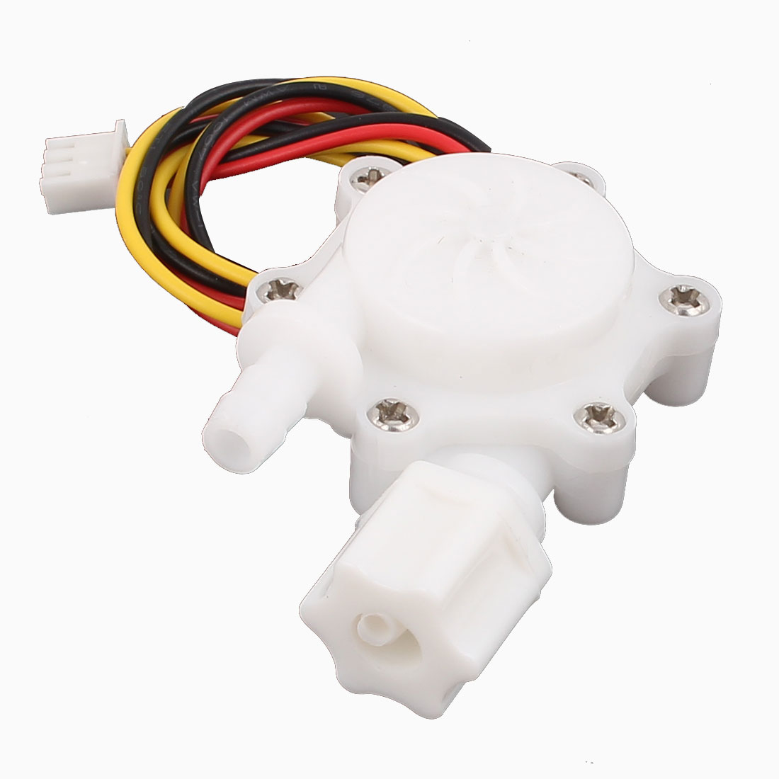 G1/4 Male Thread 6mm Outlet Outer Dia Water Flow Sensor 0.2-2.5L/min SEN-HW06FB