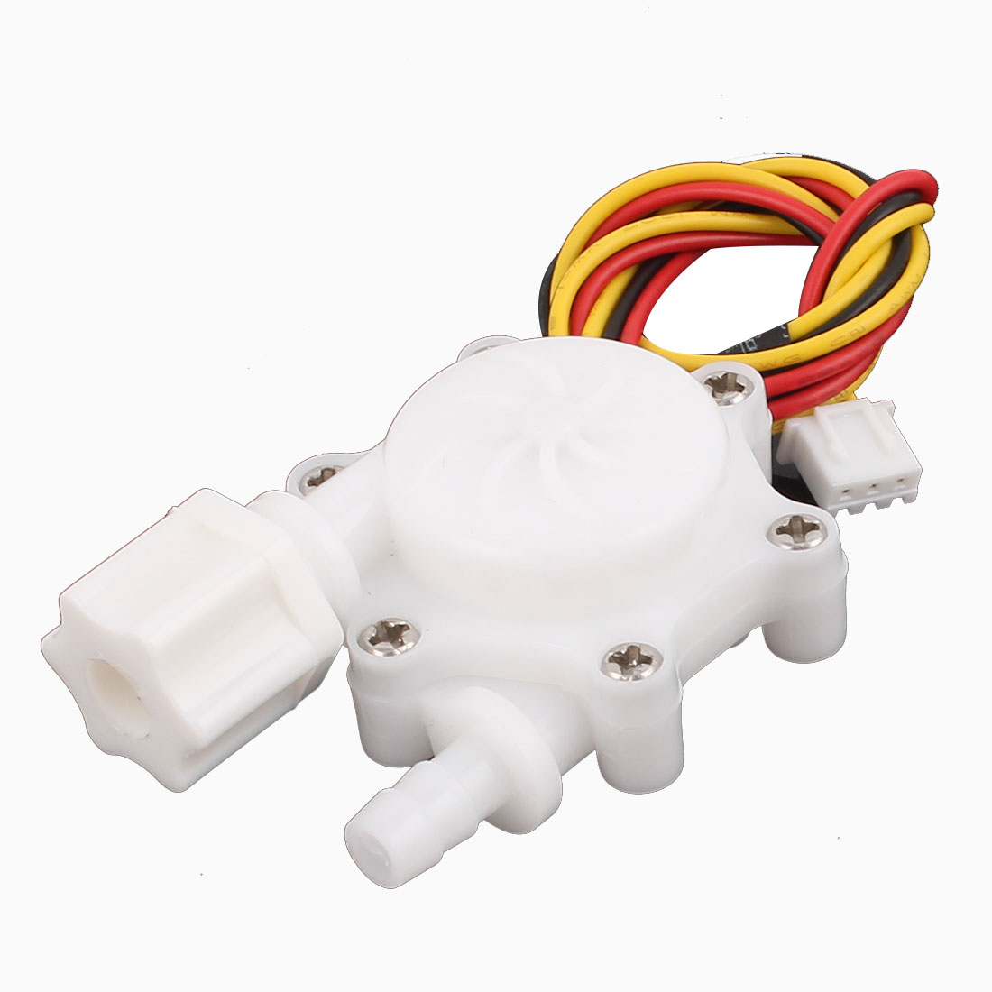 G1/4 Male Thread 6mm Outlet Outer Dia Water Flow Sensor 0.15-1.5L/min SEN-HW06FA