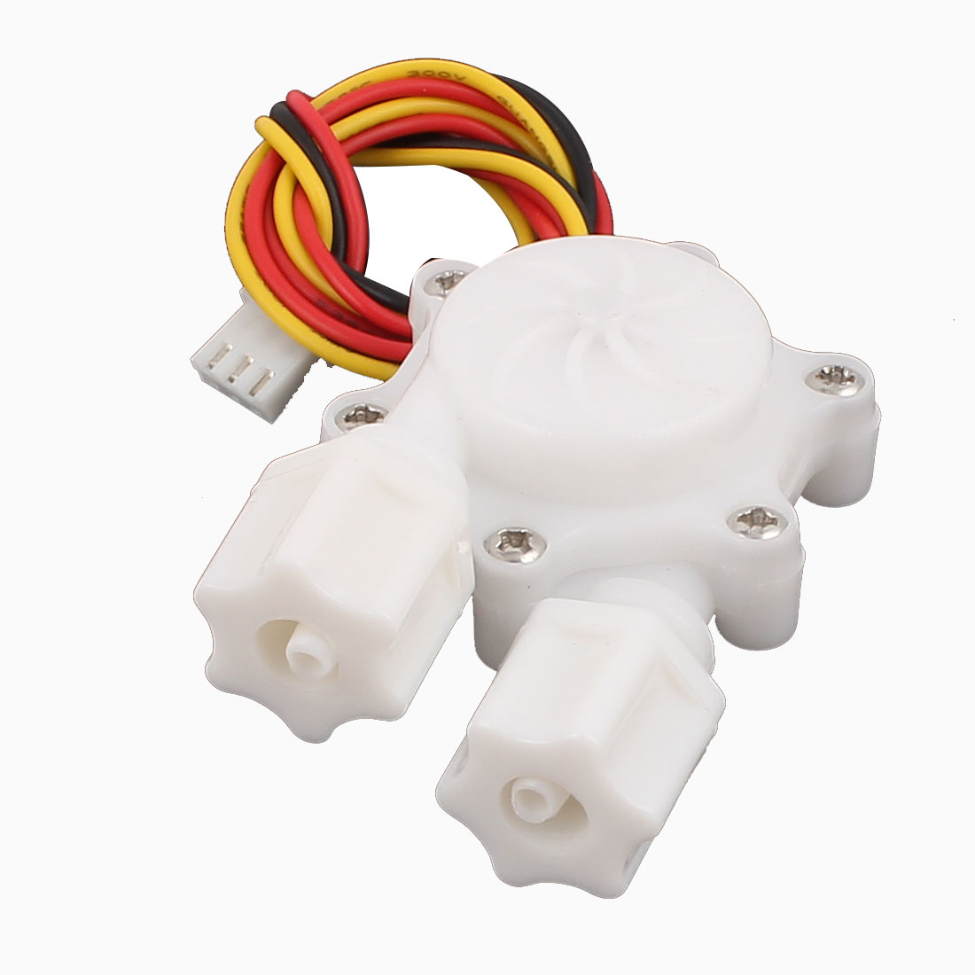 Plastic 0.2-2.5L/min G1/4 Male Thread Water Flow Sensor Flowmeter SEN-HW06W