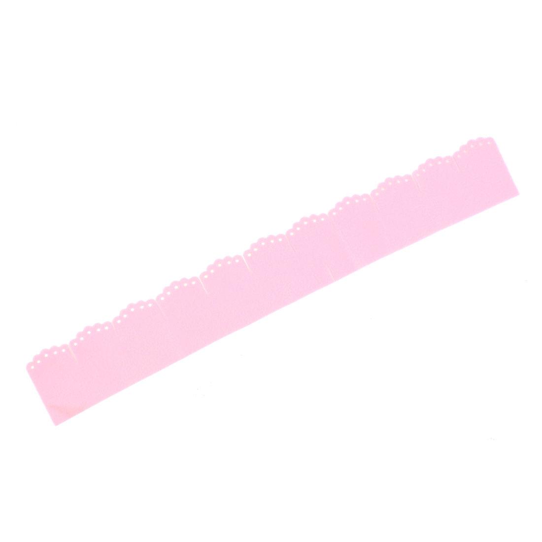 Bathroom Electrostatic Closestool Toilet Base Stick Corner Post Paster Pink