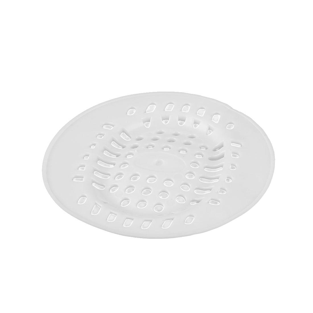 Bath Shower Kitchen Waste Hair Resin Rubber Strainer Drain Filter Stopper Catcher