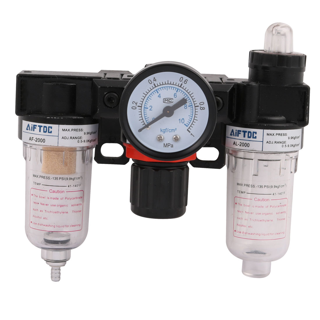 AC-2000 Air Source Treatment Filter Regulator Lubricator Combinations