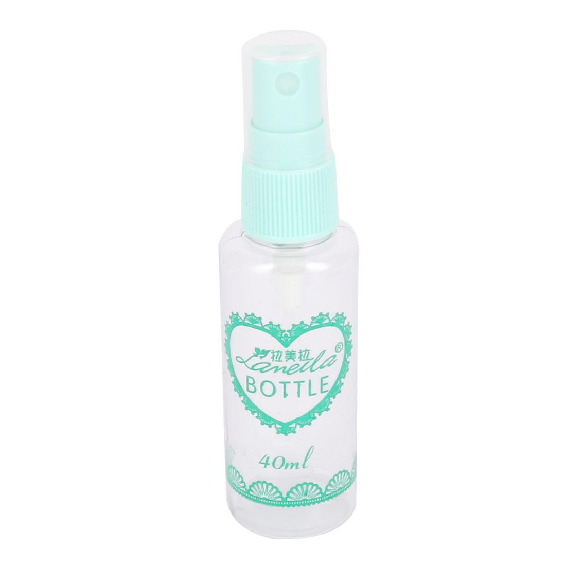40ML Reuse Travel Plastic Mini Cosmetic Perfume Mist Spray Bottle Baby Blue