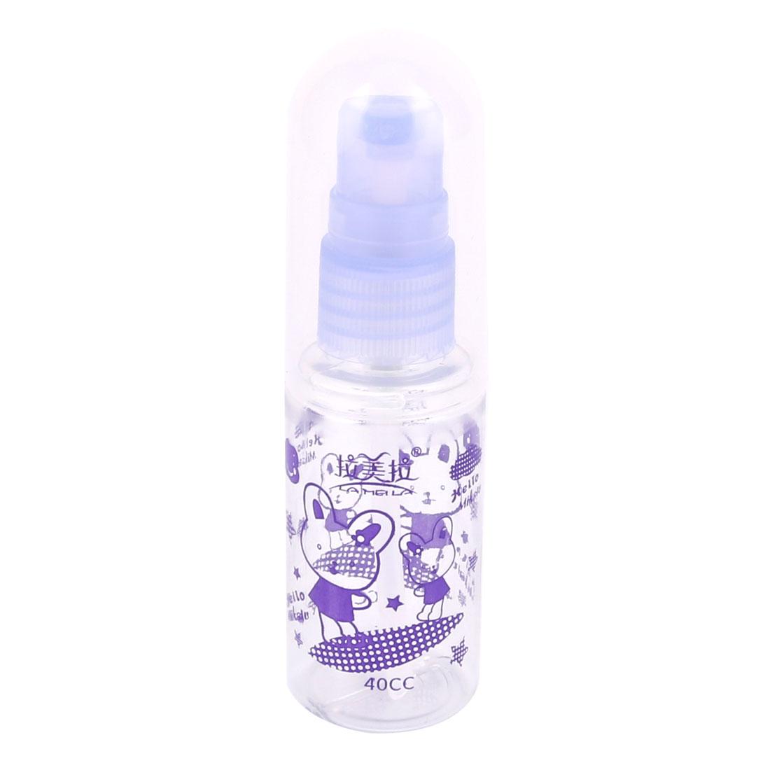 40ML Reuse Travel Trip Plastic Mini Emulsion Toner Container Pump Bottle