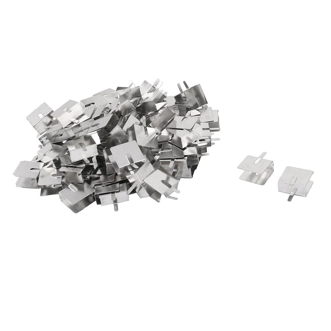 18mmx20mmx10mm PCB Mounting Aluminium Heat Diffuse Heatsink Cooling Fin 102pcs