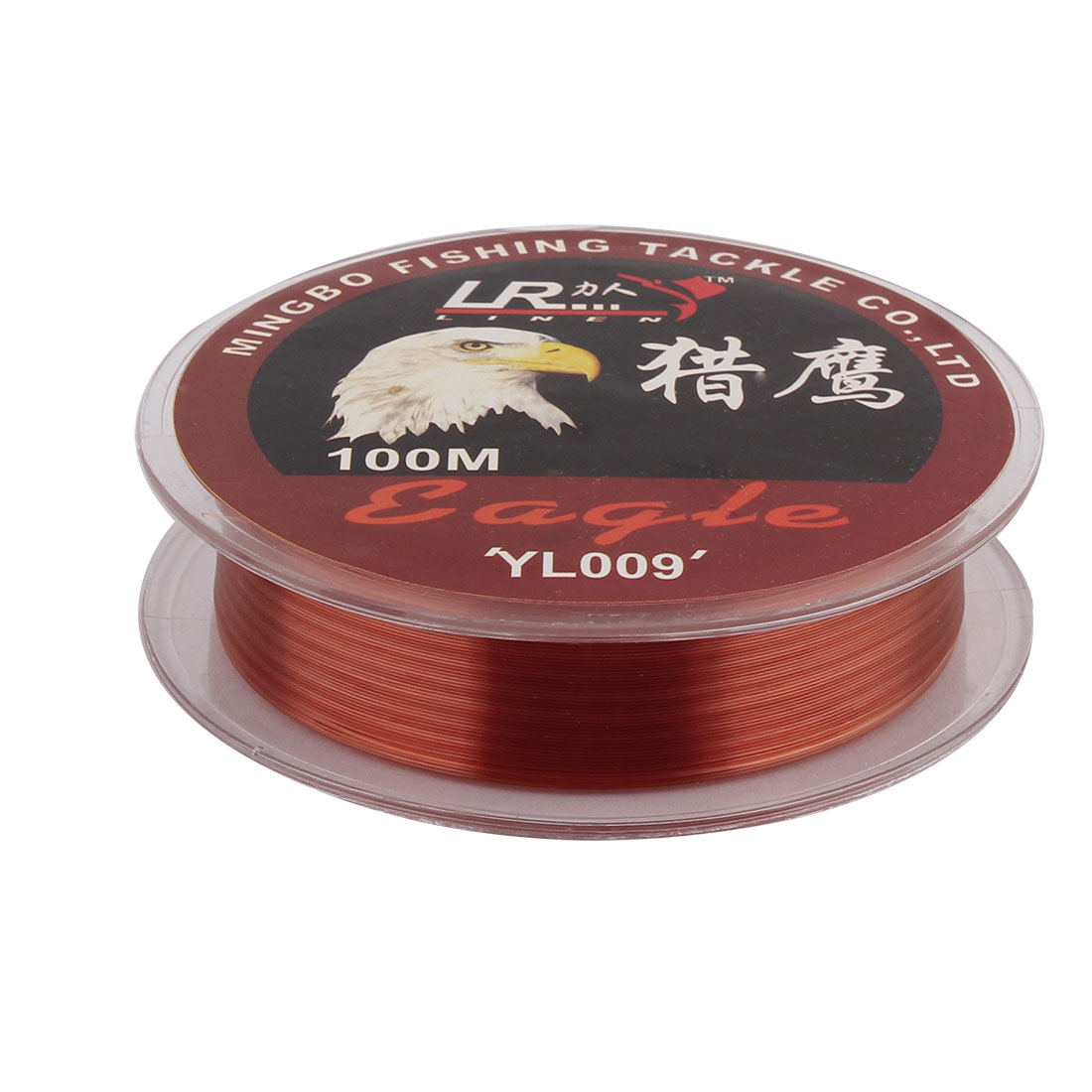 Fisherman Nylon Tensile Angling Fishing Line Reel Spool Wire Red 100m Long