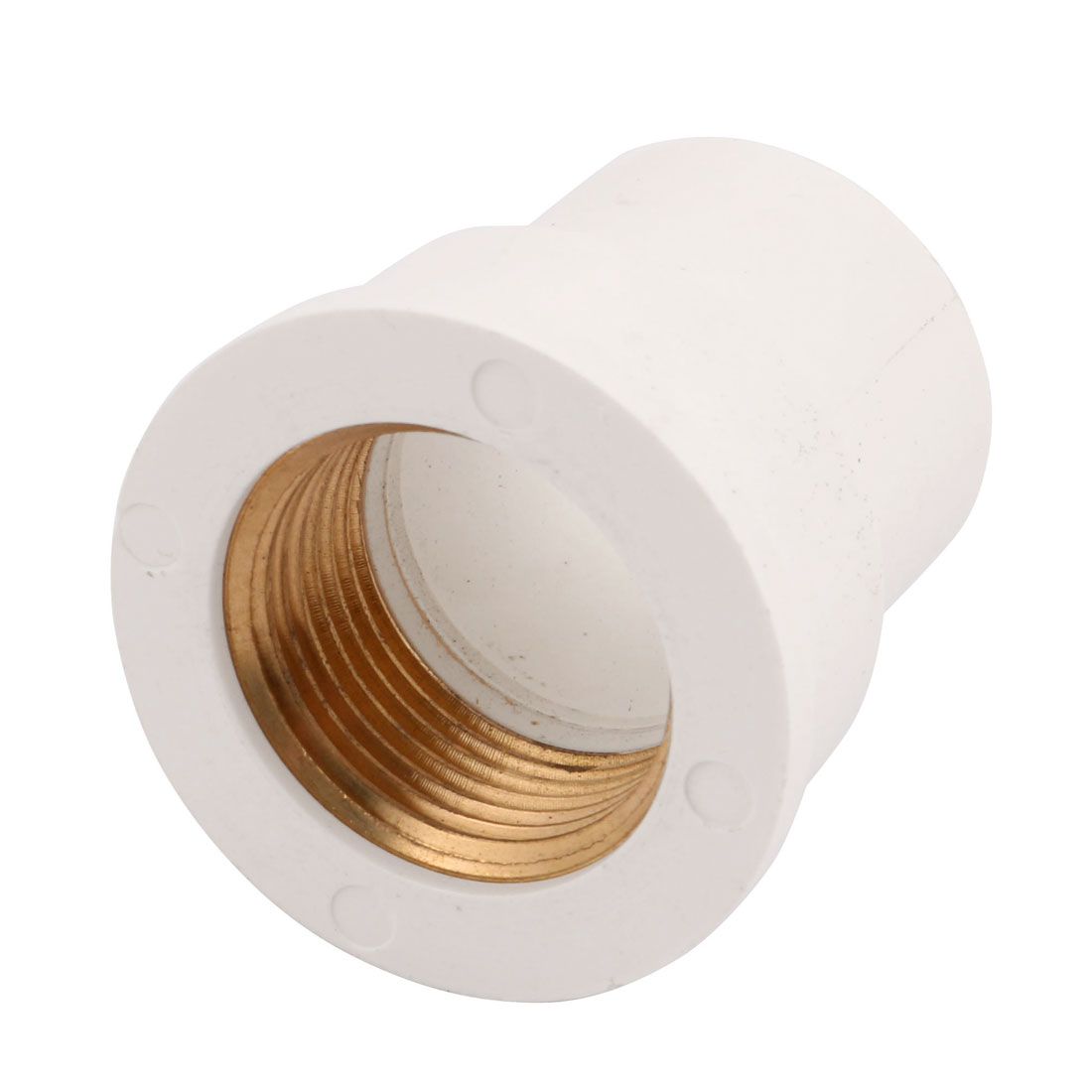 1-inch BSPT Female Thread Straight Pipe Connector Quick Fittings Plastic Housing