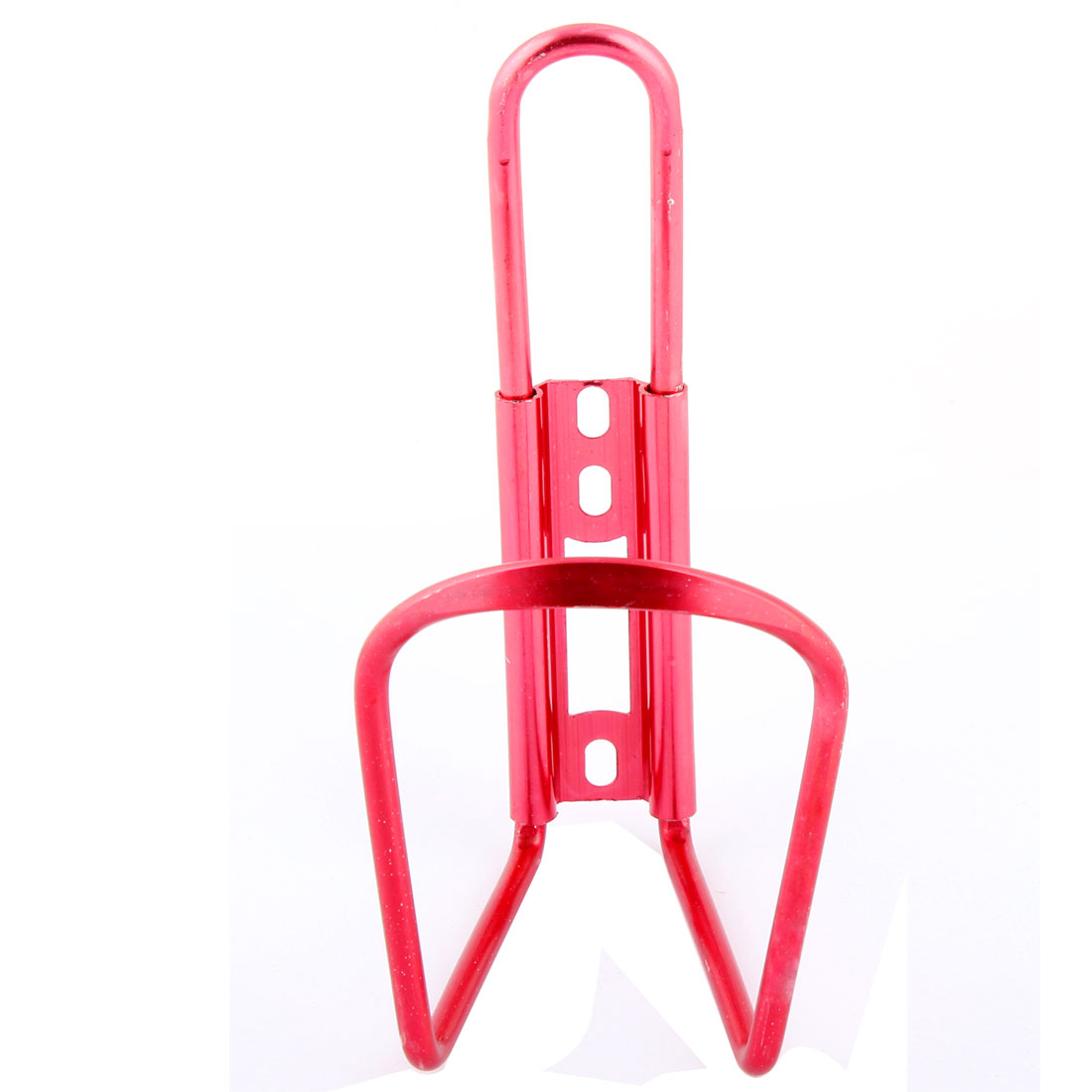 Metal Cycling Sport Bike Bicycle Drink Water Bottle Bracket Rack Holder Fuchsia